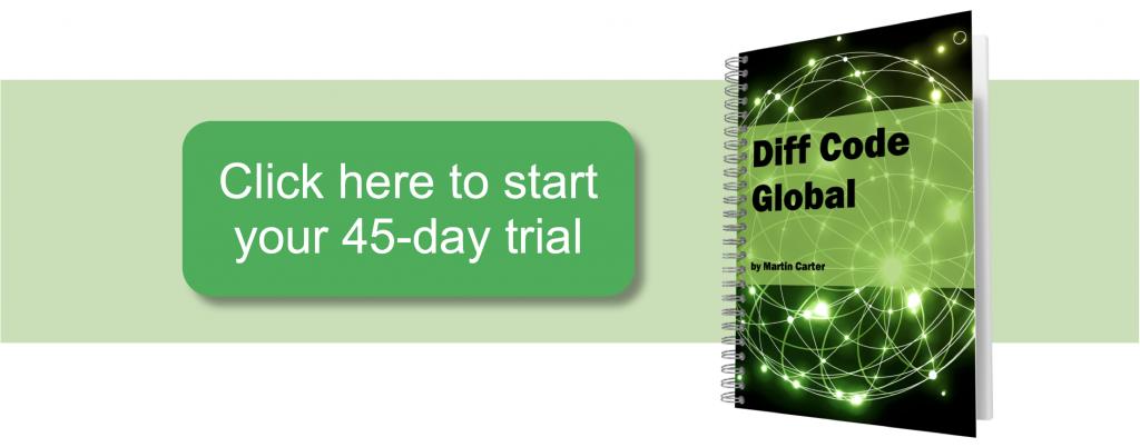 diff code global buy